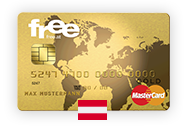 No-fee Mastercard Gold – Austria