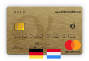 No-fee Mastercard Gold – Germany