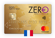 No-fee Mastercard Gold – France