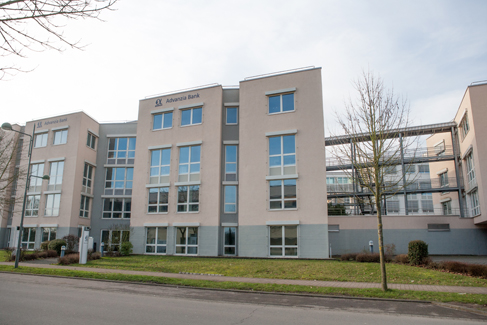 The Advanzia headquarters in Luxembourg